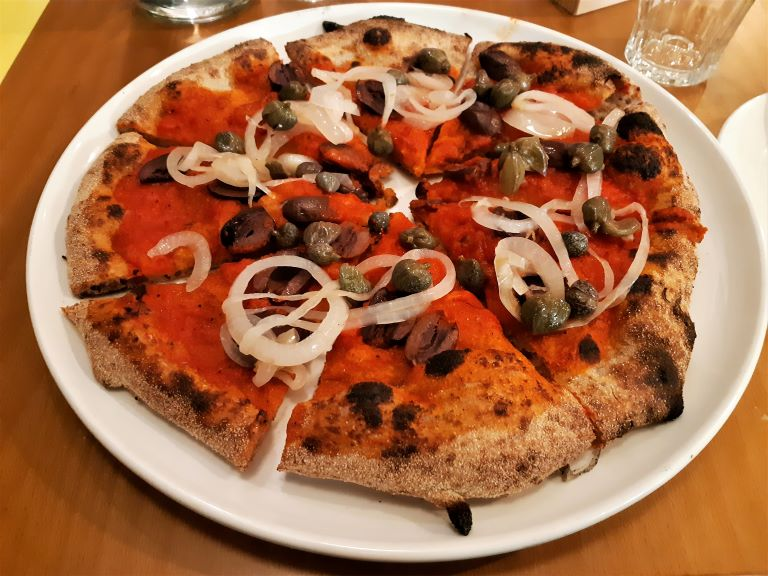 Berberè pizzeria Centrale pizza mediterranea