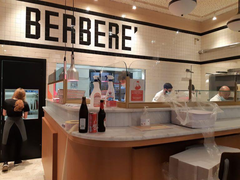 Berberè pizza bancone Isola