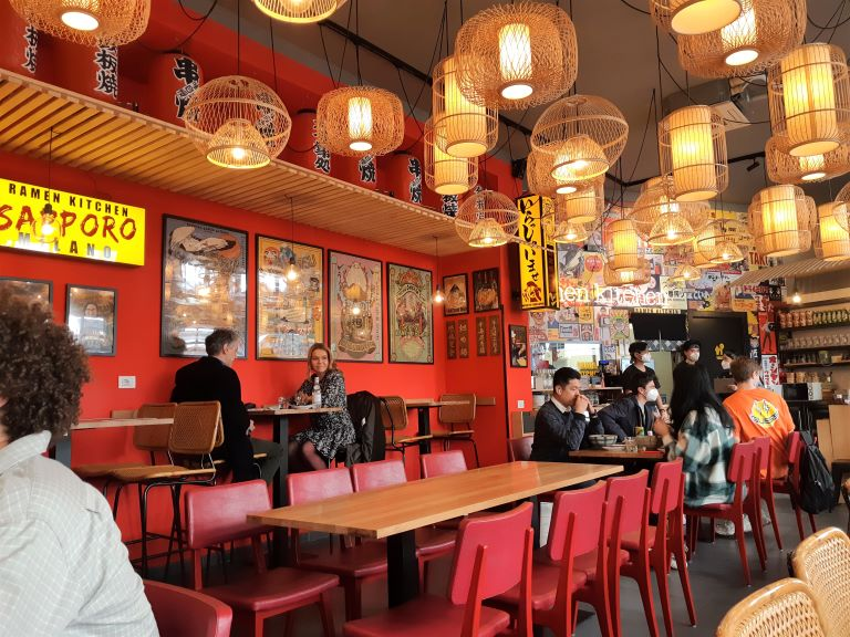 Takumi Ramen Kitchen locale