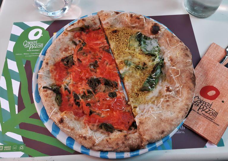 Capperi...che pizza!!! pizze vegane, mozzarella fior di vegan, friarielli, pistacchio