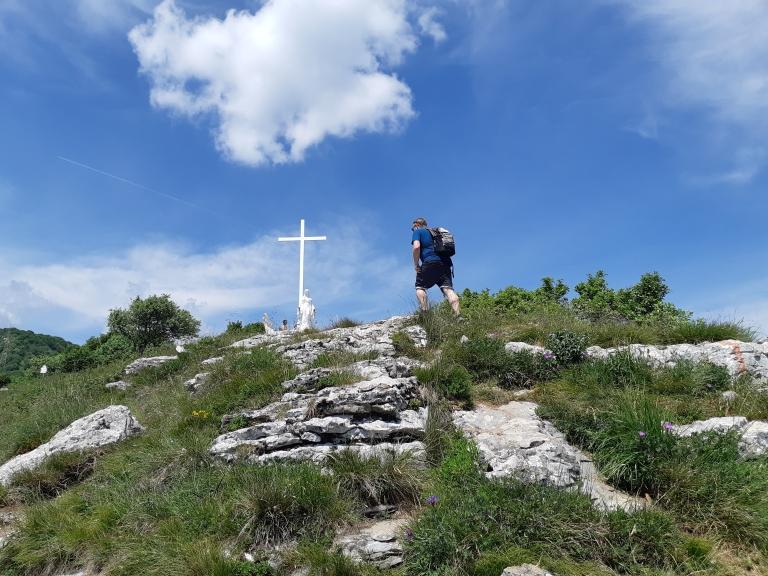 14bis.Cima Comer alla croce 1279m