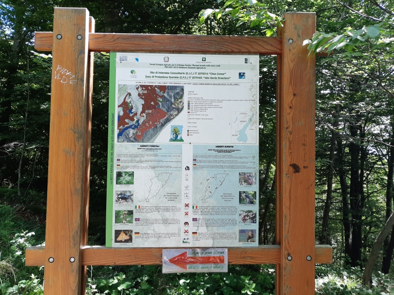 9.Cima Comer Parco Alto Garda Bresciano