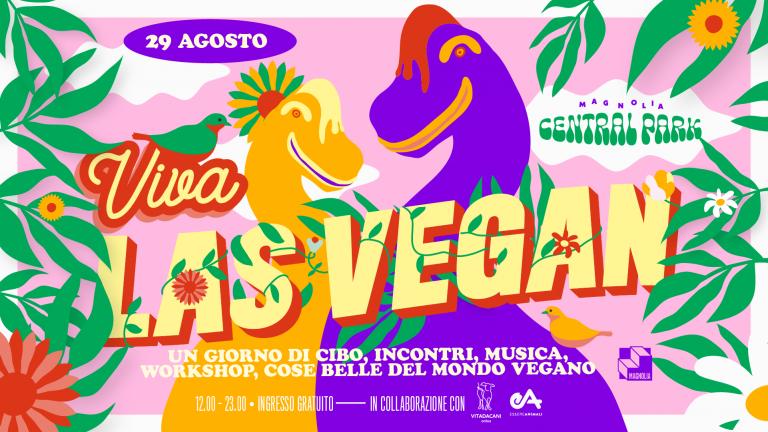 festival vegano viva las vegan circolo magnolia