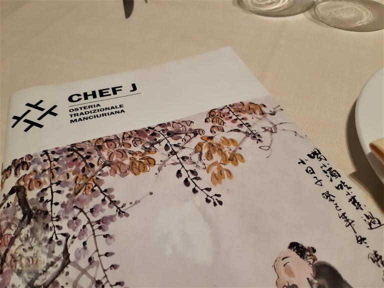Chef J trattoria tradizionale della Manciuria