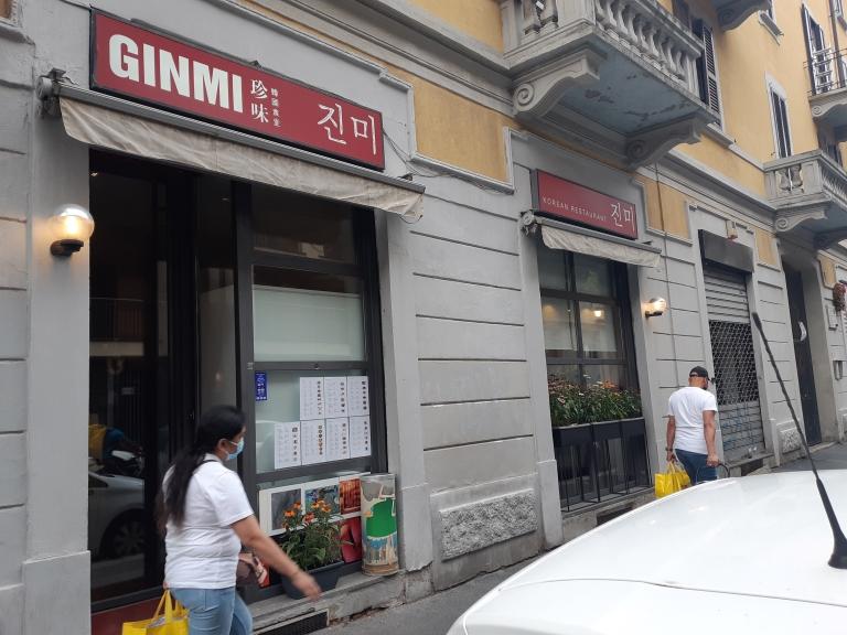 GinMi ristorante coreano