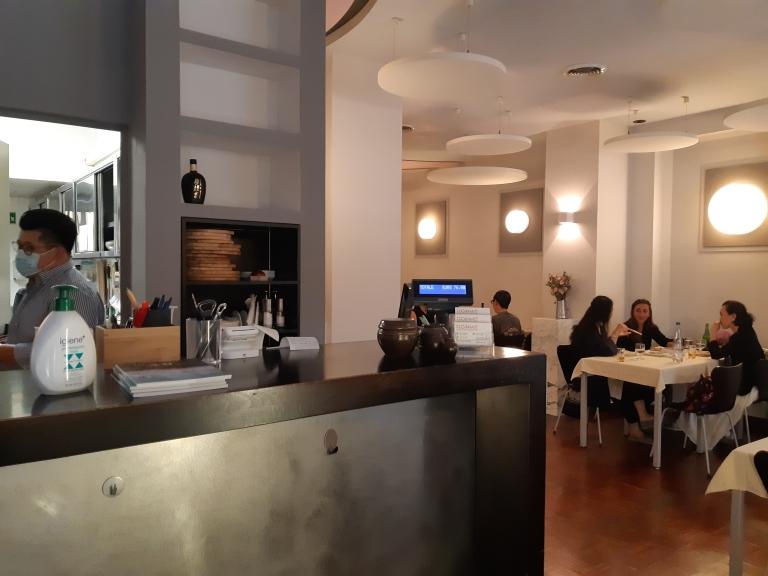GinMi Milano ristorante coreano interno
