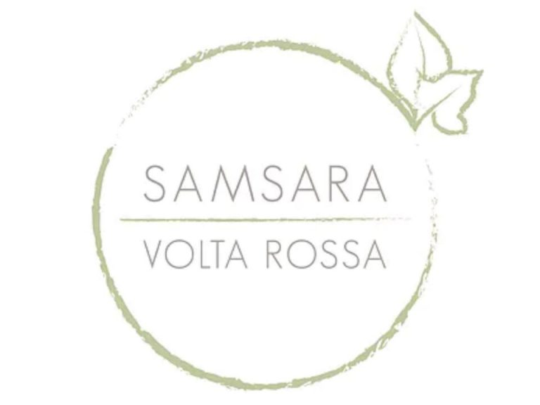 logo samsara volta rossa